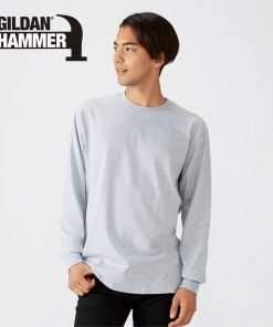 HA40 Gildan 長袖 T-shirt