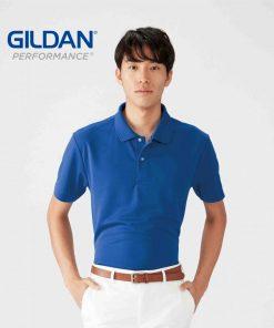 Gildan 透氣Polo-shirt